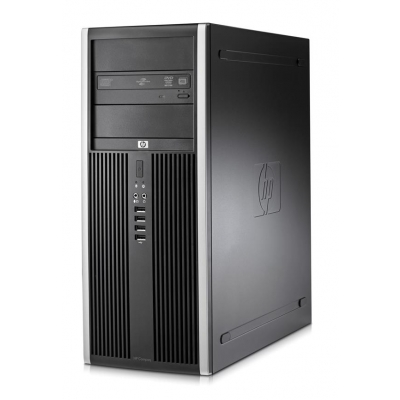 HP 8000 Tower E8400 3GHz 4GB RAM 80GB HDD