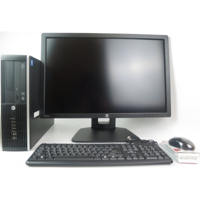 HP Compaq 6300 CORE i5-3470-3.20GHz 4GB RAM 320GB HDD + 24'' HP Z24I AH-IPS