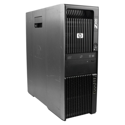 Сервер WORKSTATION HP Z600 4xCORE XEON E5530 8GB RAM 500GB HDD + Radeon FirePro V8700 1GB