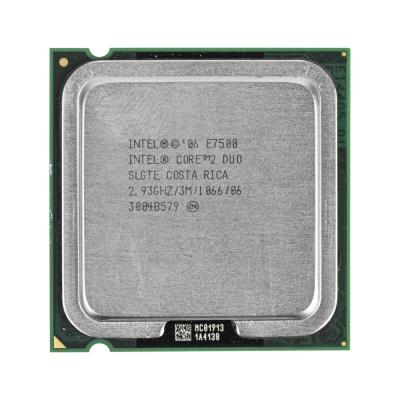 Процессор Intel® Core™2 Duo E7500 (3 МБ кэш-памяти, тактовая частота 2,93 ГГц, частота системной шины 1066 МГц)