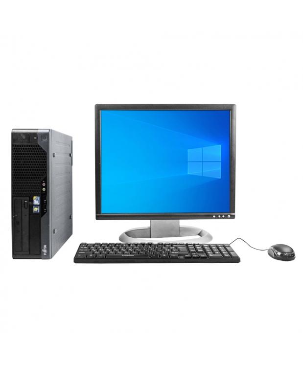 Системный блок Fujitsu E5731 Intel Core2 Duo E8400 4GB RAM 160GB HDD + Монитор 19