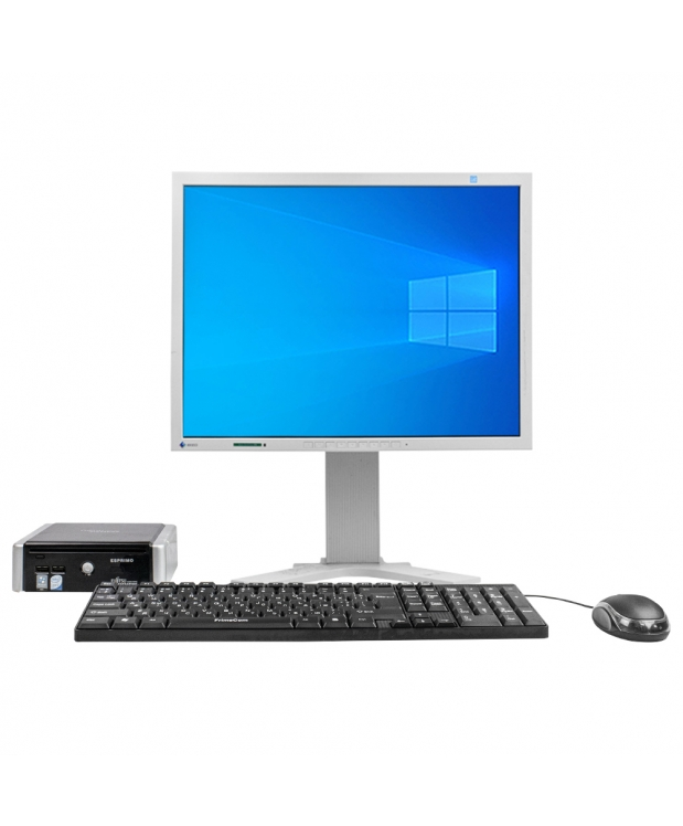 Системный блок Fujitsu-Siemens ESPRIMO Q5020 mini Intel® Core™2 Duo T5670 2GB RAM 80GB HDD + Монитор Eizo FlexScan S2100