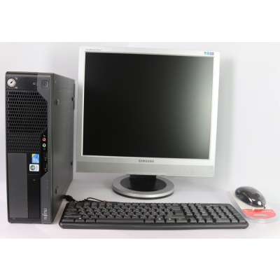 "Комплект Fujitsu-Siemens E7936 CORE 2DUO E8500 3.16GHz 4GB DDR3 80GB HDD + 19"" TFT Монитор"