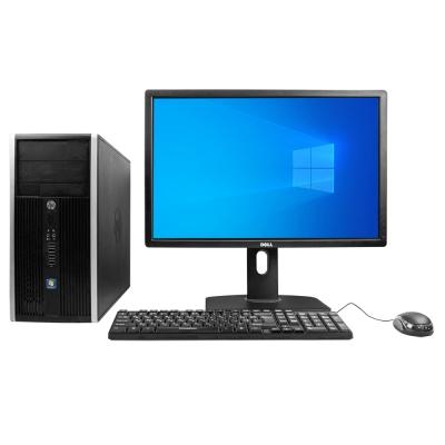 Системный блок HP 8200 Tower Intel Core i5-2320 8GB RAM 120GB SSD 250GB HDD + Монитор Dell U2412