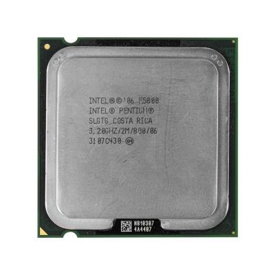 Процессор Intel® Pentium® E5800 (2 МБ кэш-памяти, тактовая частота 3,20 ГГц, частота системной шины 800 МГц)