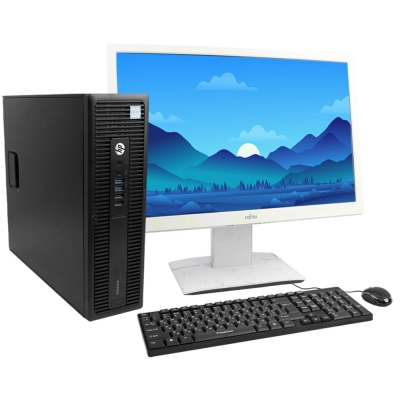 "Системный блок HP ProDesk 800 G2 SFF Intel® Core™ i5-6500 8GB RAM 500GB HDD + 24"" Монитор"