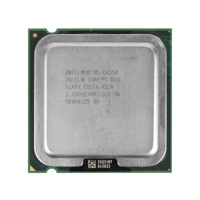 Процессор Intel® Core™2 Duo E6550 (4 МБ кэш-памяти, тактовая частота 2,33 ГГц, частота системной шины 1333 МГц)