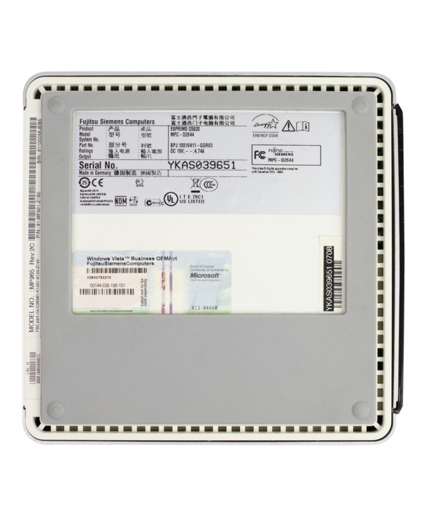 Комплект Fujitsu-Siemens ESPRIMO Q5020 mini Intel® Core™2 Duo T5670 2GB RAM 80GB HDD + Монитор 19 фото_7