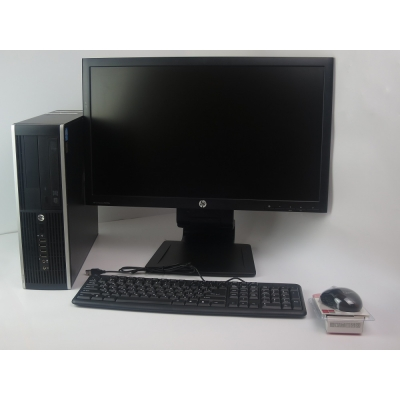"HP Compaq 8200 CORE i3 2100 3.1GHz 4GB RAM 250GB HDD + 23"" Монитор"