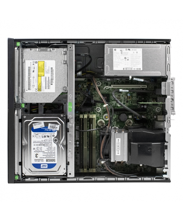 HP 800 G1 SFF 4x ЯДЕРНЫЙ CORE I5 4570 8GB DDR3 500GB HDD +  Новая GTX 1050TI фото_4