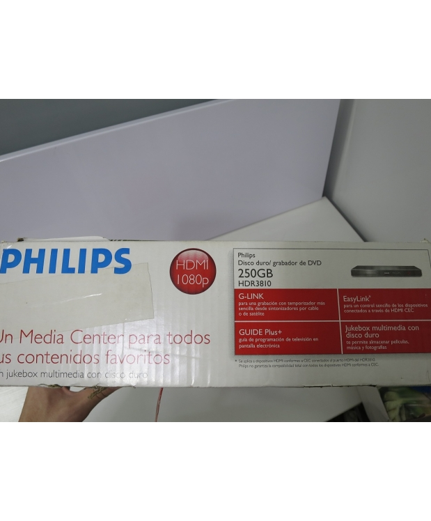 Philips HDR3810 DVD-Recorder  250gb фото_1