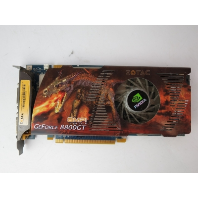 Видеокарта Zotac GeForce 8800 GT AMP edition PCI-E 512MB DDR3
