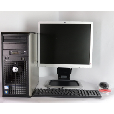 "DELL 780 Core 2 Duo E8400 3.0GHZ 4GB RAM 80GB HDD + 19"" Монитор TFT"