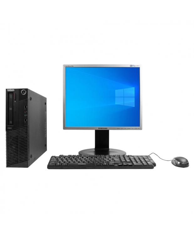 Системный блок Lenovo ThinkCentre M78 AMD A4-5300B 4GB RAM 250GB HDD + Монитор 19
