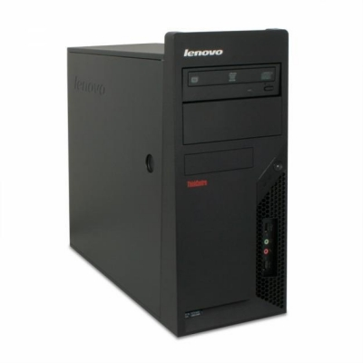 LENOVO M57 TOWER CORE 2 DUO E8200 2.66 GHz 4GB RAM 80GB HDD
