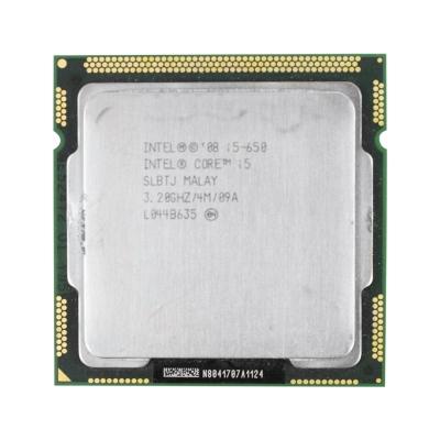 Процессор Intel® Core™ i5-650 (4 МБ кэш-памяти, тактовая частота 3,20 ГГц)