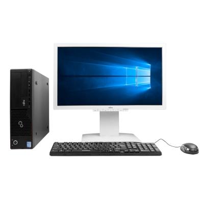 Системный блок Fujitsu e700 SFF Intel Core i3-2100 8GB RAM 320GB HDD + Монитор Fujitsu B23T-6