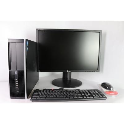 """HP 8000 SFF E8400 3.0GHZ 8RAM DDR3 80 HDD + 22"""" Монитор TFT"""