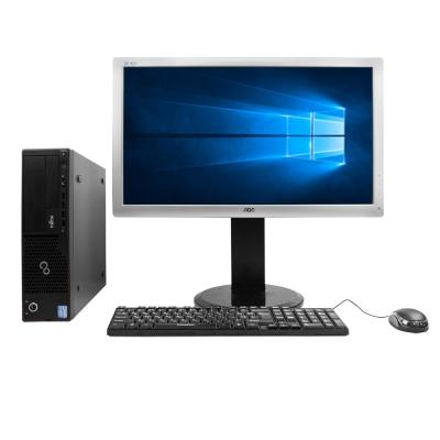 "Системный блок Fujitsu E700 Intel Core i3-2100 4GB RAM 320GB HDD + Монитор  Aoc e2436Pa 24"""
