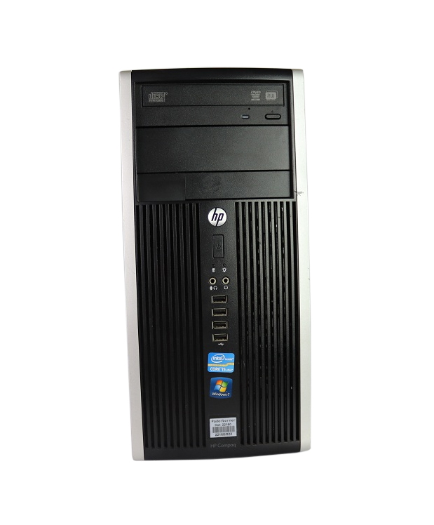 HP COMPAQ ELITE 8300 MT Core I3 2120 8GB RAM 320GB HDD