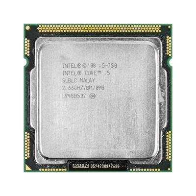 Процессор Intel® Core™ i5-750 (8 МБ кэш-памяти, тактовая частота 2,66 ГГц)