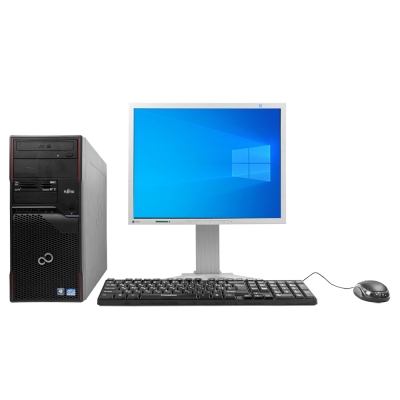 Системный блок Fujitsu Celsius W420 Intel Pentium G2020 4GB RAM 500GB HDD + Монитор Eizo FlexScan S2100
