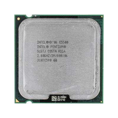 Процессор Intel® Pentium® E5500 (2 МБ кэш-памяти, тактовая частота 2,80 ГГц, частота системной шины 800 МГц)