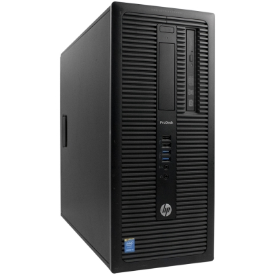 HP Tower 600 G1 Core i3-4160 3.6GHz 8GB RAM 500GB HDD