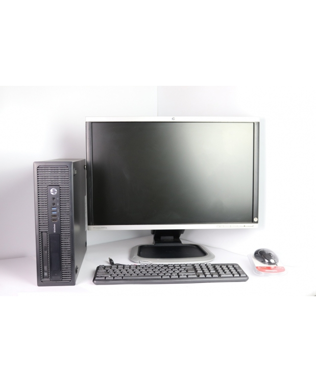 HP 800 G1 SFF 4x ЯДЕРНЫЙ CORE I5 4570 8GB DDR3 500GB HDD + 24 Монитор