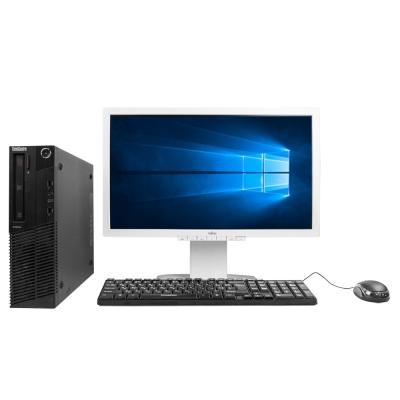 Системный блок Lenovo ThinkCentre M78 AMD A4-5300B 4GB RAM 250GB HDD + Монитор Fujitsu B23T-6