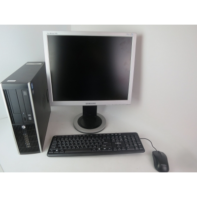 "COMPAQ 8200 CORE I3 2100 3.1GHZ 4GB RAM 250GB HDD+  19"" Монитор"