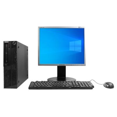 "Системный блок Lenovo ThinkCentre M78 AMD A4-5300B 4GB RAM 250GB HDD + Монитор 19"""