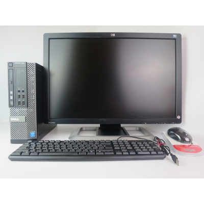 "DELL  7020 SFF Core i3 4150 3.5GHz 4GB DDR3 500GB HDD + 24"" Монитор TFT"